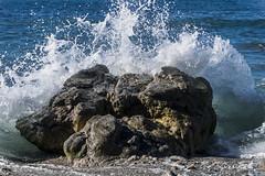 _DSC5000 (Azurel96) Tags: beach playa mar ocean sea shore seashore waves submarine marine asturias nature natural beauty colorful sky skyline landscape water