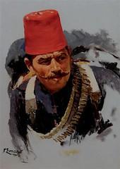 Osmanischer_Soldat (skaradogan) Tags: fausto zonaro