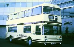 Slide 122-48 (Steve Guess) Tags: croydon surrey greater london england gb uk bus kentishbus leyland atlantean park royal lcbs an124 jpl124k