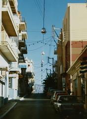 Agios Nikolaos (J_Piks) Tags: 1998 greece ellada kriti crete road street telegraphpoles agiosnikolaos