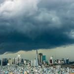 View of Thunderstorm over Saigon's District 1 thumbnail