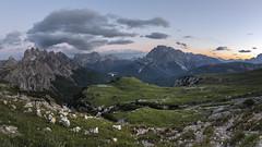 Misurina panorama (Photography by Julia Martin) Tags: photographybyjuliamartin dolomites trecime mountains sunset