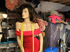 At the dressmaker's studio, the Bronx, New York (dw*c) Tags: mannequins mannequin model models dummies dummy display dwc nikon newyork nyc newyorkcity ny travel trip