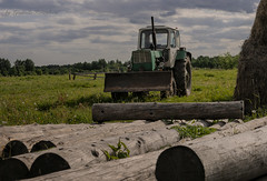 Tractor (Lyutik966) Tags: tractor agriculture equipment machine wood farm village nazimovo russia hay grass nature