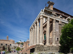 The Roman Forum (Leaning Ladder) Tags: rome italy italia romanforum roman forum canon 7dmkii leaningladder