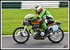 P23 Keith Latheron (1) (nowboy8) Tags: nikon nikond7200 vmcc cadwell cadwellpark bhr lincolnshire 300918 vintage classic wolds motorcycle