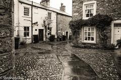 Bishopdale Court, Settle (StephenL in Settle) Tags: wet autumn uk bishopdalecourt england street northyorkshire settle