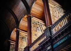 Trinity College, Dublin (jpdu12) Tags: ireland irlande jpdu12 jeanpierrebérubé nikon d5300 trinitycollege bibliothèque