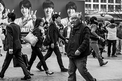 I May Be In Back But I'm Ahead (burnt dirt) Tags: asian japan tokyo shibuya station streetphotography documentary candid portrait fujifilm xt1 bw blackandwhite laugh smile cute sexy latina young girl woman japanese korean thai dress skirt shorts jeans jacket leather pants boots heels stilettos bra stockings tights yogapants leggings couple lovers friends longhair shorthair ponytail cellphone glasses sunglasses blonde brunette redhead tattoo model train bus busstation metro city town downtown sidewalk pretty beautiful selfie fashion pregnant sweater people person costume cosplay boobs