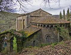Santo Estevo de Ribas de Miño, O Saviñao (Lugo) (Miguelanxo57) Tags: arquitectura iglesia románico ribasdemiño ribeirasacra osaviñao lugo galicia ábside medieval
