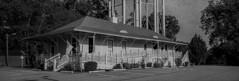 Fayetteville Depot Film Panorama (Neal3K) Tags: fayettevillega fujig617panoramacamera georgia kodakektar100