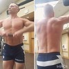 upright rows (ddman_70) Tags: shirtless pecs abs muscle gym workout shortshorts