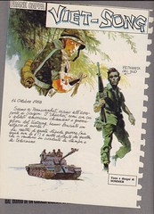 Lanciostory #v17#3 / Frank Cappa (micky the pixel) Tags: comics comic fumetti heft krieg war euraeditoriale lanciostory manfredsommer frankcappa vietsong soldat soldier vietnam panzer tank