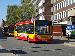 Midland Classic 34 Burton (Guy Arab UF) Tags: midland classic 34 yx12ayz alexander dennis e20d enviro 200 bus burton upon trent new street staffordshire buses tower transit first capital dmv44221