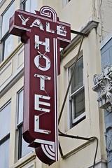 Yale Hotel, San Francisco, CA (Robby Virus) Tags: sanfrancisco california sf ca yale hotel sign signage sro tenderloin neon