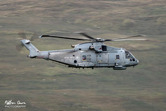 Royal Navy Merlin ZH847 low level in Northern England (NDSD) Tags: low level augusta westland eh101 merlin yorkshire dales cumbria flying jet raf royal navy lake district helicopter
