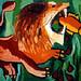 Eine Zeichnung eines Löwen Zeichnungen von Löwen Skizze eines Tieres Tierskizzen Zeitgenössische Malerei Moderne Gemälde