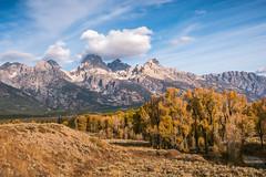 Autumn in Grand Teton National Park (Susan.Johnston) Tags: grandtetonnationalpark roadtrip autumn mountains fall wyoming usa