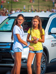 Kazan City Racing 2018 - 1158 (romanovkzn) Tags: татарстан tatarstan photosession фотосессия portrait photoshoot plein пленэр field streetphoto street казань kazan girls girl people люди портрет women девушки девушка женщины шорты shorts kazancityracing