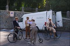 Ciclisti d'Altri Tempi (dacaccia) Tags: italia malcesine lagodigarda ciclistidaltritempiverona streetphotography
