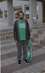Camag (valeriovisani) Tags: filmphotography portrait portraitfilm portraiture skateboarding skatefilm skatephotography italy analog film filmisnotdead kodak vintage composition