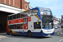 Stagecoach Cumbria & North Lancashire 19141 NK07HBE (Will Swain) Tags: 26th may 2018 bus buses transport travel uk britain vehicle vehicles county country england english north west cumbria stagecoach lancashire 19141 nk07hbe seen workington