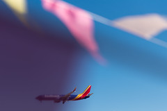 Las Vegas (FreezeTimeDigital) Tags: lasvegas vegas sincity southwestairlines flight macarooninternationalairport flags sky nikond750 abstract