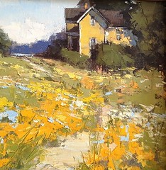 Beach Cottage By Romona Youngquist, Oil Painting (katalaynet) Tags: follow happy me fun photooftheday beautiful love friends