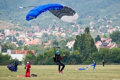 Parachute (Andras Regos) Tags: aviation airshow airport lhbs parachute