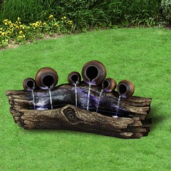 tree_trunk_water_fountain_with_6_pots_fengshui_1474024200_3e05f98c (Unixmo) Tags: home decor ornaments modern ornemants
