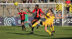 Lewes 2 Folkestone Invicta 0 20 10 2018-316-2.jpg (jamesboyes) Tags: lewes folkestoneinvicta football soccer fussball calcio voetbal amateur bostik isthmian goal score celebrate tackle pitch canon 70d dslr