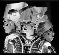 Facade 06 (lightandform) Tags: people face blackandwhite void inside posed fame outside canon illusion emulation imitation halloween portrait bw strange facade