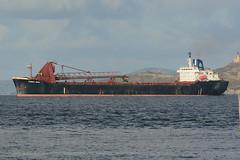 Yeoman Bank - Leith - 28-10-18 (MarkP51) Tags: yeomanbank firthofforth leith selfdischargingbulkcarrier bulkcarrier scotland ship boat vessel nikon d7100 d7200 nikon70200f4vr nikonafp70300f4556fx kodachromeii slide film scan sunshine sunny maritimephotography