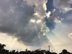 Another East End afternoon (ldifranza) Tags: houston afternoon sky clouds