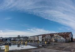 Shipyard (frattonparker) Tags: afsnikkor28300mmf3556gedvr btonner isleofwight lightroom6 nikond810 raw solent vertorama frattonparker shipyard cowes jswhite