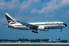 N107DL-1-KMIA-APR2001 (Alpha Mike Aviation Photography) Tags: miami airport mia kmia delta air lines boeing 767 200 b762 dal