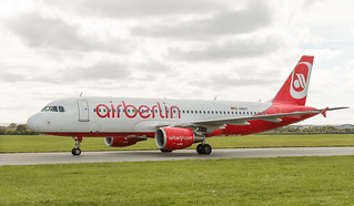 D-ABDT Airbus A320 Air Berlin Livery at Dublin Airport 16-9-18  (1 of 1)