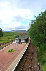 Rannoch Station (Herb287) Tags: nikon d60 rannoch scotland scottishhighlands summer westhighlandline railways unlimitedphotos theamateursgroup
