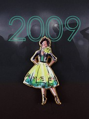 Premiere Series Pin Sets - 2018 Disney Designer Collection - Disney Store Purchase - Removed From Box - On Backing - Closeup View of Tiana (drj1828) Tags: disneystore disneydesignercollection premiereseries merchandise limitededition pinset 2018 purchase disneyprincess