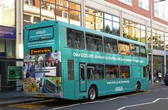 Nottingham  City Transport 904 (SRB Photography Edinburgh) Tags: nottingham city transport travel 904 charity bus buses uk
