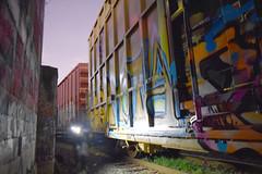 rwdog$ (Railway Dogs) Tags: graffititren graffititrain boxcargraffiti steelgiants tbox boxcar