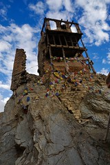 Old Wanla monastery, the highest building (ruin)
