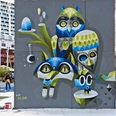 Rotterdam Street Art (Akbar Sim) Tags: rotterdam holland nederland netherlands wallsandwheels streetart urbanart akbarsim akbarsimonse iameelco