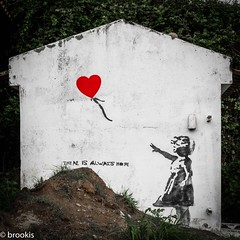 Banksy Unshredded (brookis-photography) Tags: sãomiguel azores furnas banksy girlwithballoon