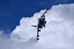 Spanish Navy Harrier (Beardy Vulcan II) Tags: england summer july 2018 farnborough farnboroughairshow airshow hampshire spanish navy harrier aeroplane aircraft av8v