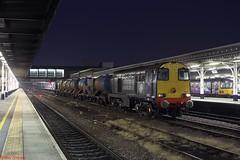20302 Sheffield 11-10-18 (benwheeler) Tags: 20302 20305 drs direct rail services 3s12 sheffield rhtt head treatment train
