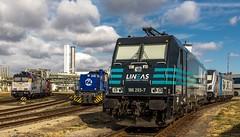 042_2018_09_22_Leuna_Infraleuna_6185_589_RHC_Luther_6193_466_SIEAG_SBBC_Bellinzona_1275_011_LEUNA_6186_293_Rpool_LINEAS_6186_293_Rpool (ruhrpott.sprinter) Tags: ruhrpott sprinter deutschland germany allmangne nrw ruhrgebiet gelsenkirchen lokomotive locomotives eisenbahn railroad rail zug train reisezug passenger güter cargo freight fret leuna leunawerke infraleuna linde 120 203 0264 0650 1247 1261 1275 4185 4482 6143 6185 6186 6187 6193 9527 alpha db lineas mgn rbh rhc rotrac rpool sbbc sueag vl wfl dampfspeicherlok schienenwalzzeichen schienenfahrrad weksfeuerwehr unimog abfüllanlage logo natur outddor haupttorplatz kanaldeckel