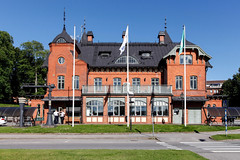 Ulricehamn fd station 2016-07-19 (Michael Erhardsson) Tags: 2016 ulricehamn fd juli kommun ort samhälle sommar stad stationshus sverige järnvägsstation station