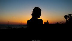 Sunset mood (Nicola Pezzoli) Tags: menorca baleares baleari island nature spain sea minorca isola silhouette girl sunset ciutadella