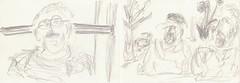 Wandern im bayrischen Wald (raumoberbayern) Tags: drawing zeichnung sketch skizzenbuch sketchbook robbbilder carnetdecroquis bleistift graphite graphit dina4 bayern3 ilz